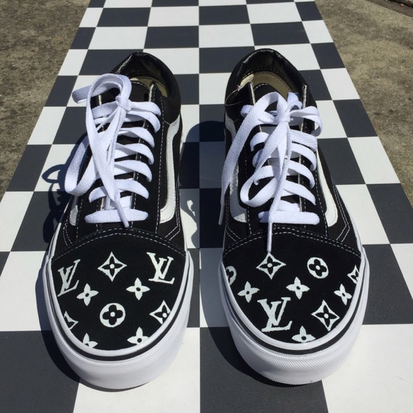 Custom Made Louis Vuitton Vans